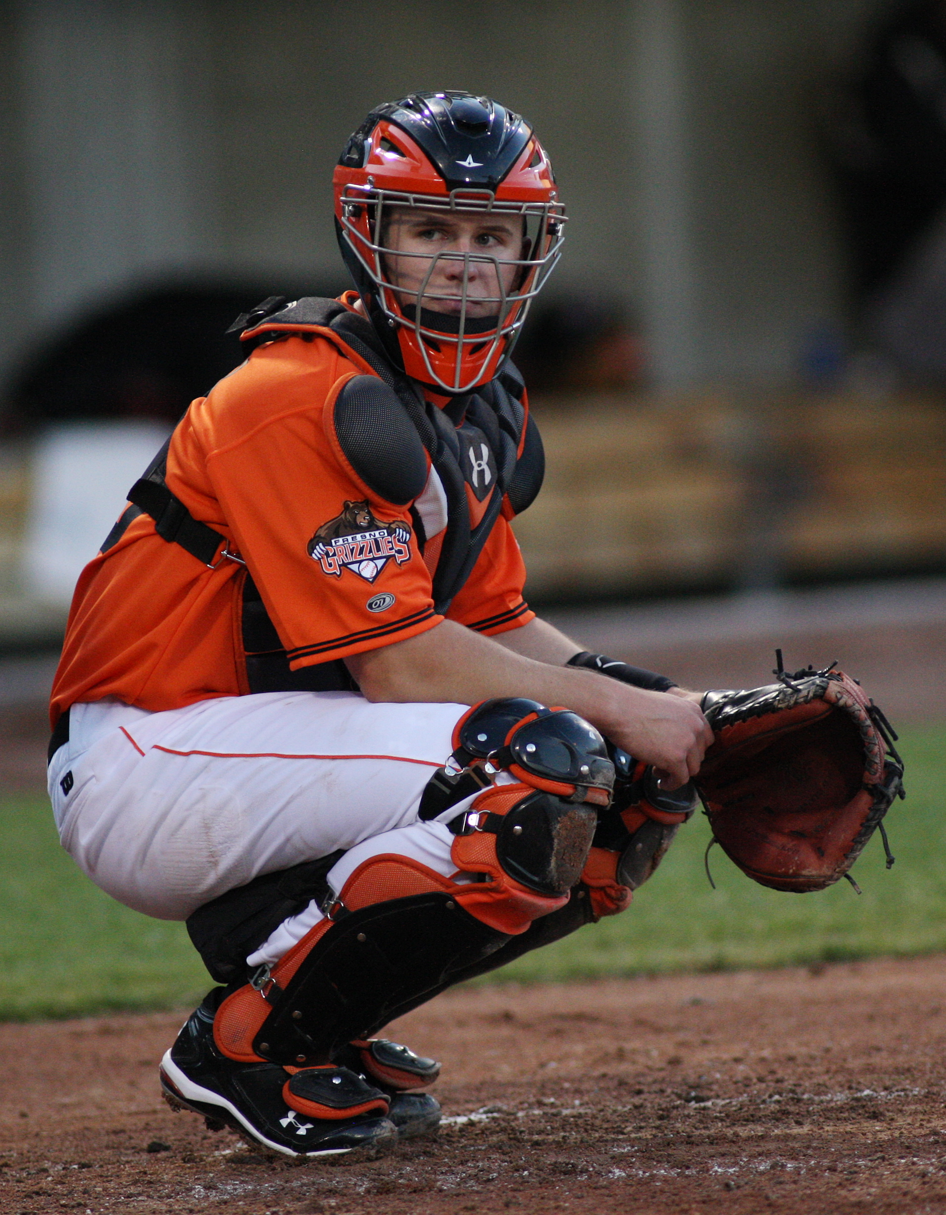 Buster posey catching